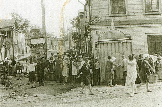 В 30-е годы водопровод в Казани был роскошью.