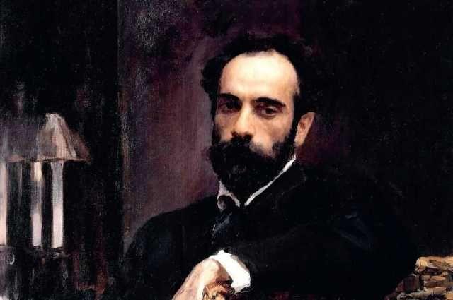 Портрет И. И. Левитана, Валентин Серов, 1893.