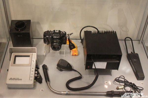 Установка телевизионного наблюдения, стационарная радиостанция, металлоискатель «шахта».