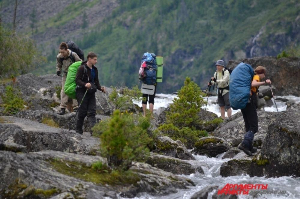 С июля по август в заповеднике туристов много, как никогда.