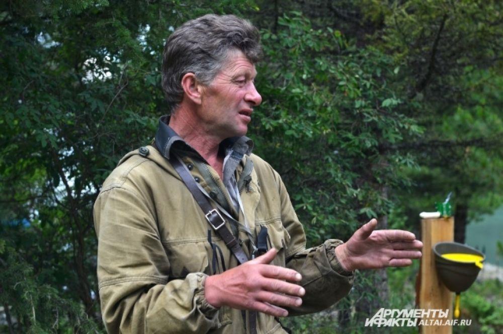 Андрей Самойлов, главный инспектор Мультинского участка Катунского биосферного заповедника.