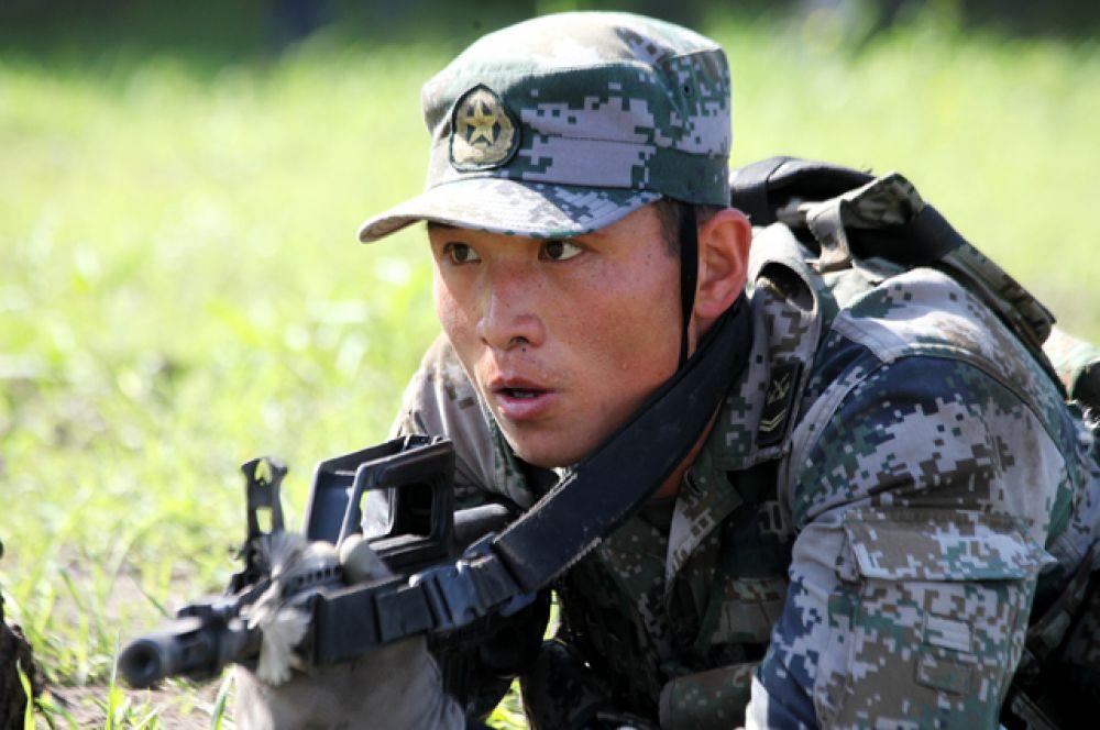 Разведчики из Китайской Народной Республики прибыли на соревнования позже всех, однако показали отличную готовность.