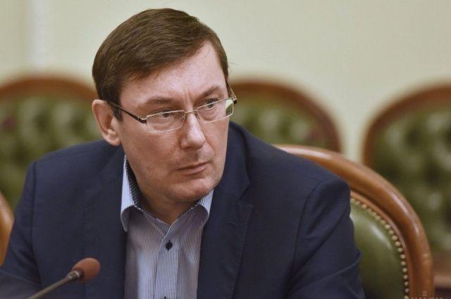 Луценко заговорил обобысках вСБУ