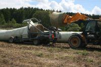 План на каждую смену – 50 тонн собранного сенажа.