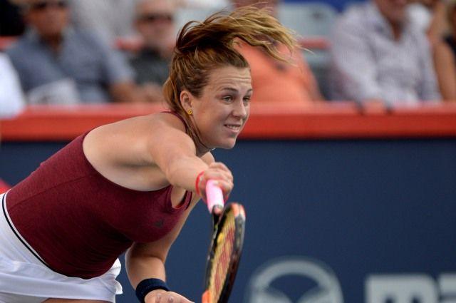Анастасия Павлюченкова одержала победу вматче теннисного турнираОИ
