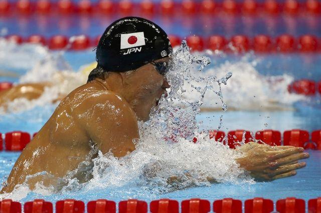 Японец Хагино— олимпийский чемпион вкомплексном плавании на400м