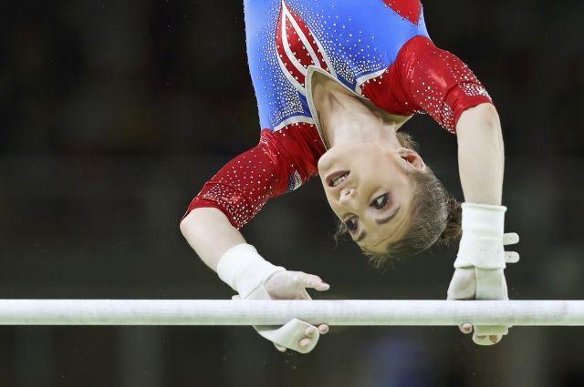 Женская сборная Российской Федерации поспортивной гимнастике завоевала серебро вкомандных соревнованиях