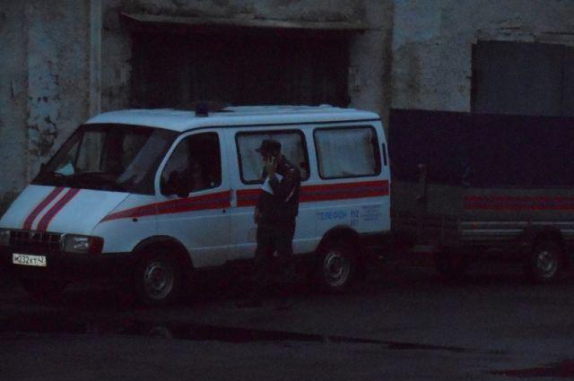 Cотрудники экстренных служб ведут укрепление кровли вблизи участка нашахте «Юбилейная»