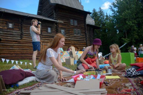 Для детей на фестивале работали интерактивные площадки.