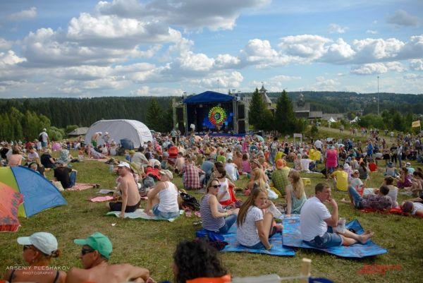Палаточный городок фестиваля
