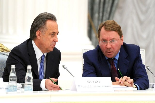 Думаю, буду участвовать ввыборах напост президента РФС— Виталий Мутко