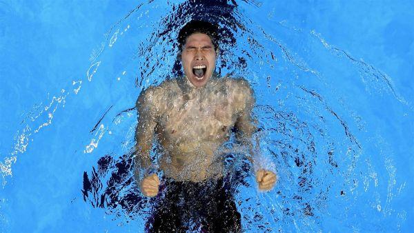 Японец Kosuke Hagino заполучил главный трофей в плавании на 400 метров в индивидуальном стиле среди мужчин