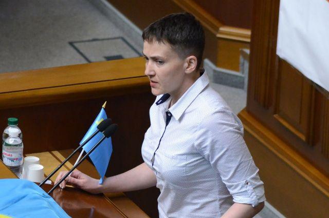 Савченко выступает за быстрейшее освобождение пленных наДонбассе