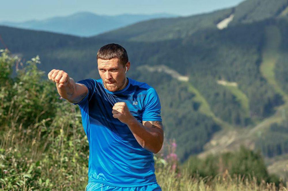Боксеры часто тренируются в горах