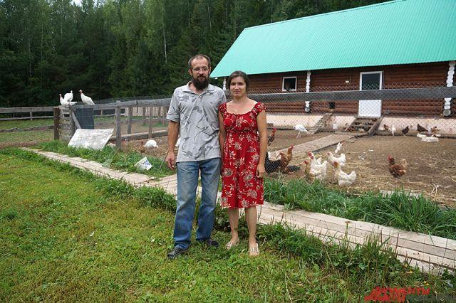 Аркадий Берещук вместе с женой Ириной.