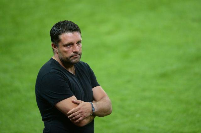 СМИ сообщили ожелании Черевченко уйти споста главного тренера «Локомотива»