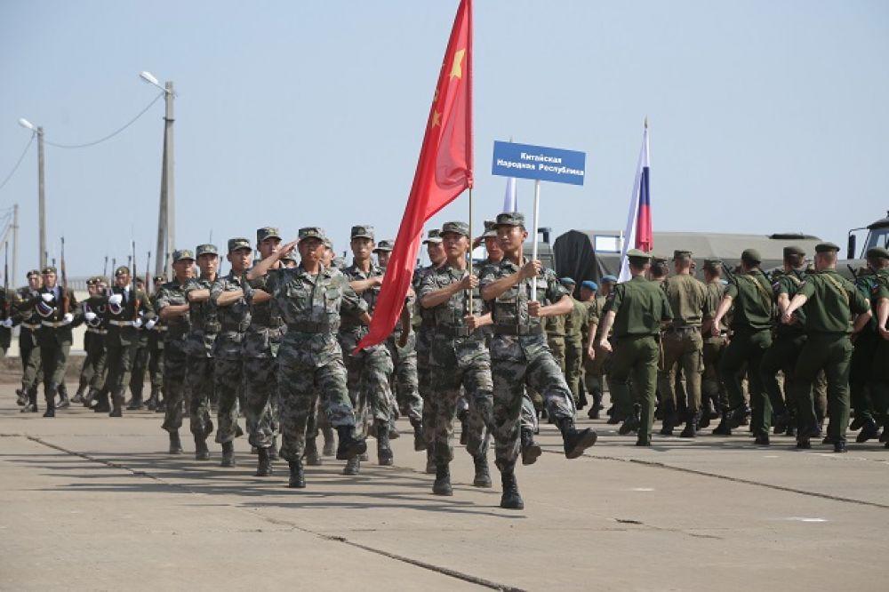 Народно-освободительная армия КНР.