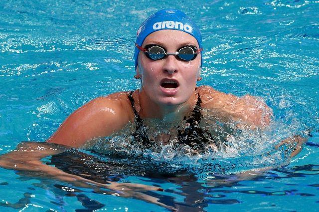 НаОИ-2016 пловчиха Попова квалифицировалась вполуфинал на200м кролем