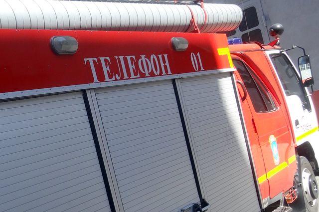 Пожар наскладе вБерёзовском потушен
