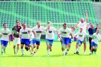 Скоро у чемпионов мира появится своя спортивная площадка.
