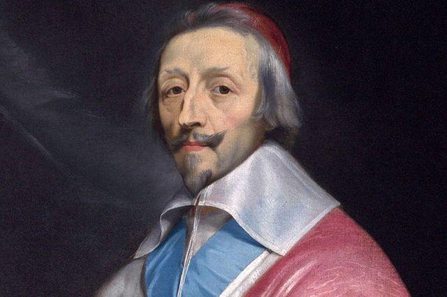 Кардинал Ришелье. Портрет работы Филиппа де Шампеня 1640 года.