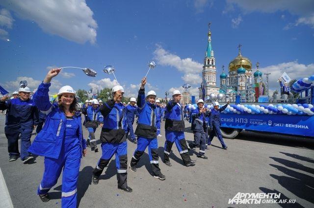 6 августа омичи отметили День города.