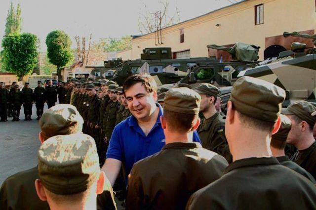 Саакашвили рассказал обУкраинской поддержке вконфликте 2008 года