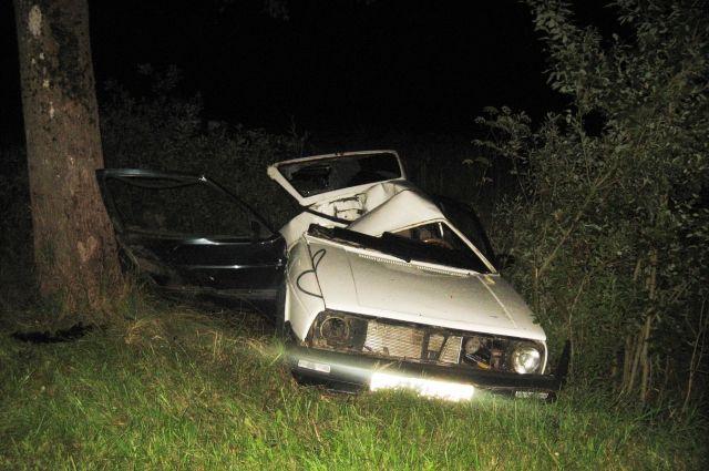 В ДТП в Краснознаменском районе погибли двое подростков.