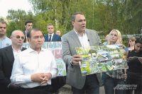 Пётр Толстой обещает проконтролировать то, как преобразится Жулебинский лес.