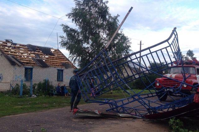 Пятеро человек пострадали в итоге урагана вПоморье