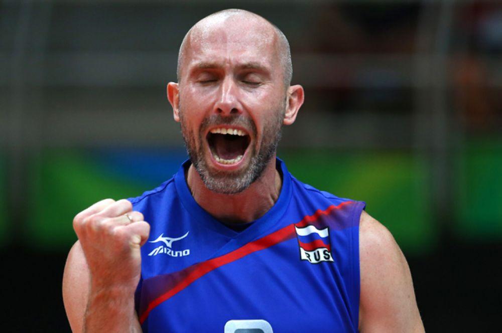 Мужская сборная России по волейболу обыграла Кубу.