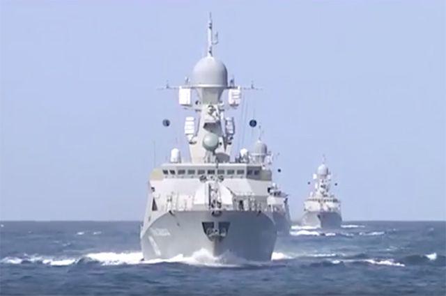 НаКаспии пройдут учения кораблей, оснащенных «Калибрами»