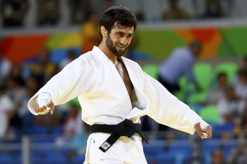 Первое золото Олимпиады в Рио принес России дзюдоист Беслан Мудранов.