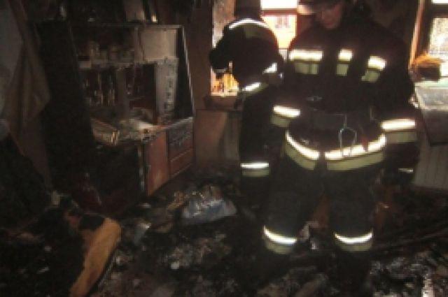 Огонь уничтожил личный дом идворовые постройки вГородце