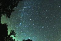 Помешать наблюдению за звездопадом не сможет даже пасмурная петербургская погода.