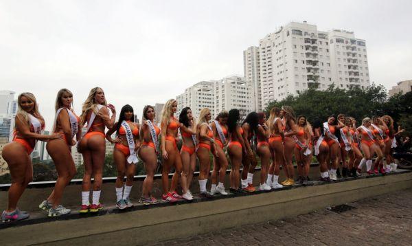 В Бразилии проведение таких конкурсов считается веселой затеей, а не пошлостью
