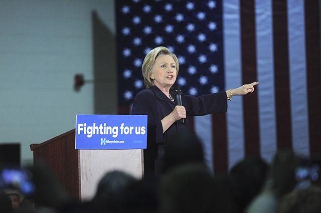 Отец «стрелка изОрландо» пришел напредвыборный митинг Клинтон