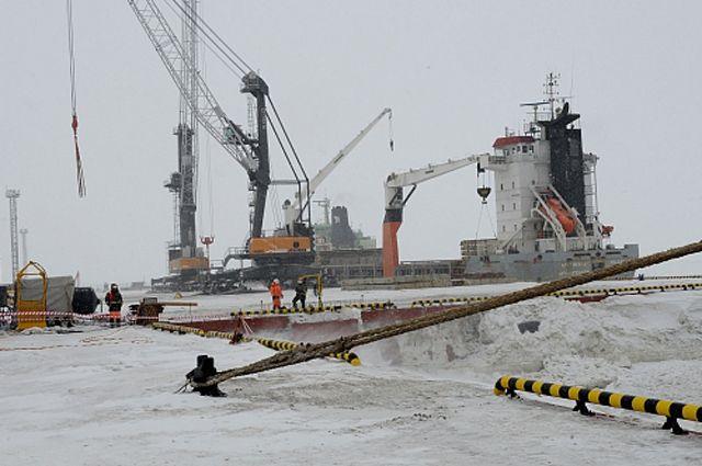 Пограничную заставу для охраны Севморпути создали впорту Сабетта наполуострове Ямал