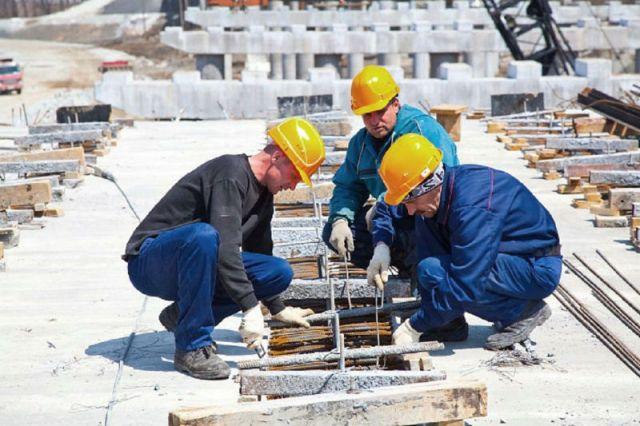 Строительная отрасль даёт региону десятки тысяч рабочих мест.