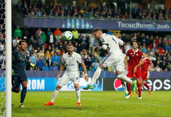 Но недолго музыка играла. Серхио Рамос уже во втором финале подряд забивает ключевой гол для команды на 93 минуте. Невероятно!
