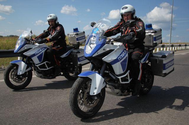 С весны 2016 года на дорогах Кузбасса дежурят патрули, способные догнать любого мотоциклиста.