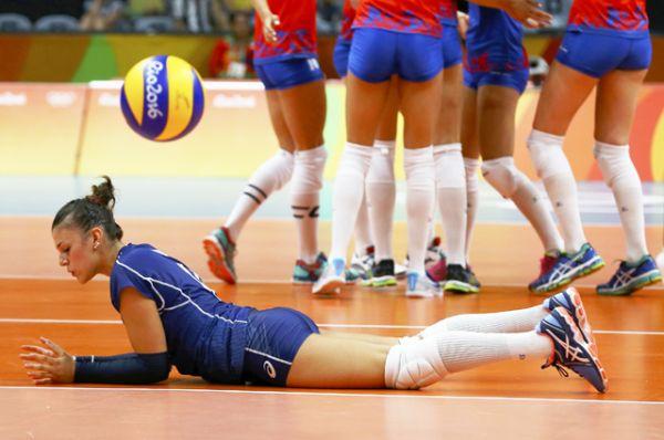Волейбол.