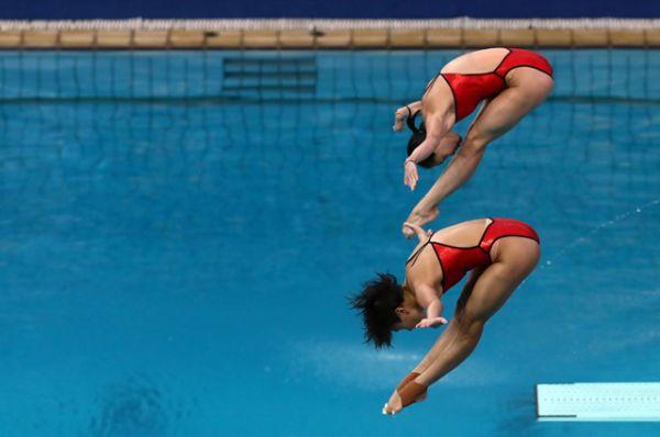 Прыжки в воду.