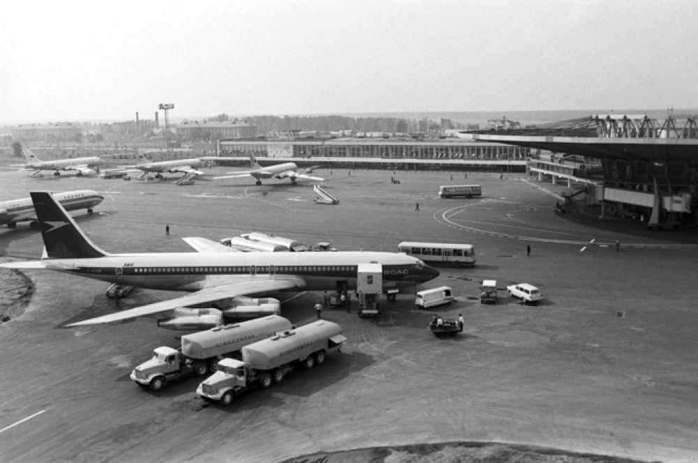 Международный аэропорт Шереметьево. 1970 год.