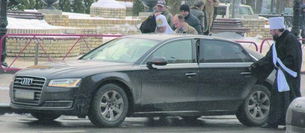 Глава УПЦ, 87-летний Филарет с начала года ездит на Audi A8, которая стоит сейчас около 3,4 миллиона гривен