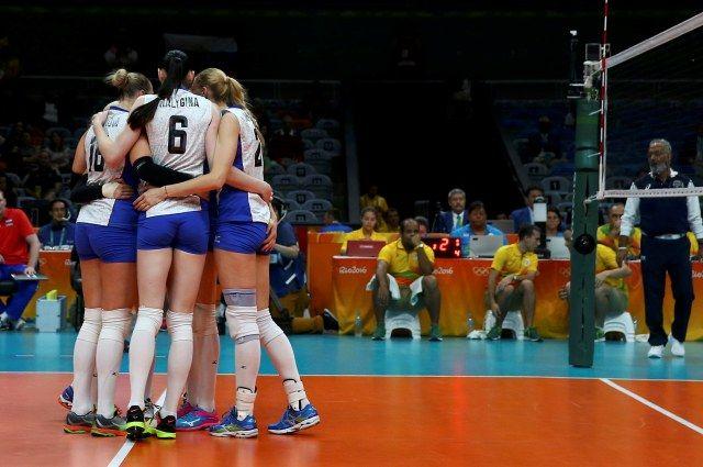Волейболистки сборной Российской Федерации гарантировали себе место в ¼ финала