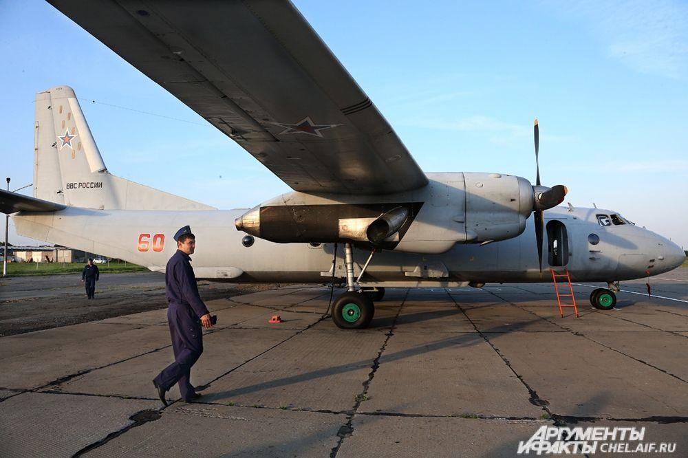 Подготовка самолёта к полёту.