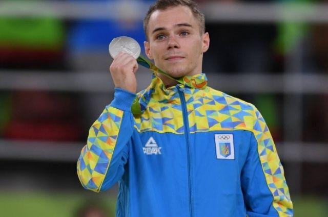Украинский гимнаст завоевал 2-ое «серебро» наОлимпиаде