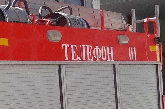 Вселе Сухая Вязовка горел личный дом: погибли двое детей