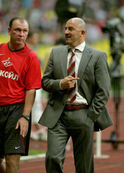 В 2004 году начался тренерский этап в карьере Черчесова. Он становится наставником австрийского клуба «Куфштайн», а затем переходит в свою бывшую команду «Тироль».